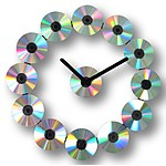 CD Wall Clock