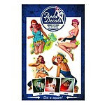 Pin-Up Girl Stickers