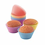 DomoClip Silicone Baking Cups for Muffins