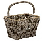 Large Rectangular Bike Basket with Handle