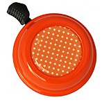 Orange Polka Dots Bike Bell