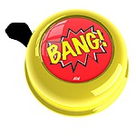 Yellow Bang! Bike Bell