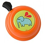 Orange Elephant Bike Bell