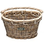 Oval Bike Basket with Hooks