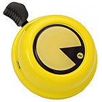 Yellow PacMan Bike Bell