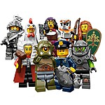 Surprise Mini LEGO Figures Series 9
