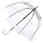 Birdcage Clear Umbrella White