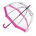 Birdcage Clear Umbrella Pink