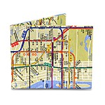 NYC Subway Map Mighty Wallet