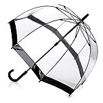 Birdcage Clear Umbrella Black