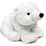 Warm Polar Bear Heating Pad