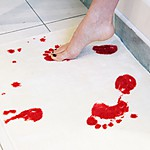 """Psycho"" Blood Bath Mat"