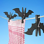 Bat-Shaped Clothes Pegs