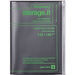"""Storage.it"" A5 Notebook Black"
