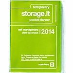 """Storage.it"" A6 2014 Agenda Green"