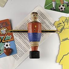 Auténtico Muñeco de Futbolín de la Selección Española