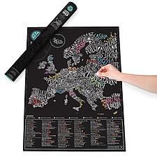 Mapa de Rascar para Gourmets Europa