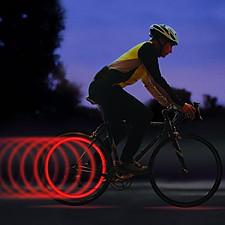 Luz para Rueda de Bicicleta Roja