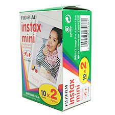 Película Instantánea Fuji Instax Mini Film Pack Doble