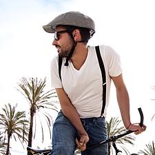 """Closca"" Casco para Bicicleta Plegable Duckbill Gris"