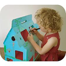 """Casa de Muñecas de Cartón """"MobileHome"""""""