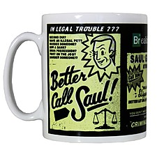 "Taza Breaking Bad ""Better Call Saul"""