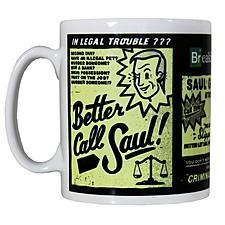 "Taza Breaking Bad ""Better Call Saul"""