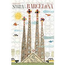 """Micro Puzzle """"Barcelona"""""""