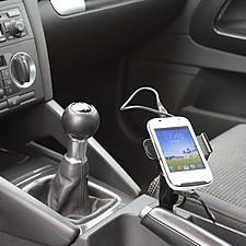 Soporte Cargador de Smartphones para el Coche ClipSonic