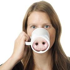 """Taza Hocico de Cerdo """"Piggy"""""""