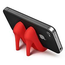 Soporte de Tacón Alto para Smartphones Rojo
