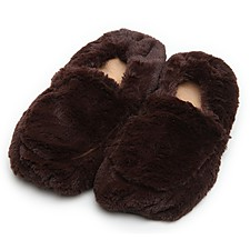 Zapatillas Calientes y Frías Cozy Slippers Chocolate