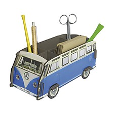 Organizador de Escritorio Furgoneta Volkswagen Azul