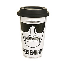 "Taza Breaking Bad para Llevar ""Heisenberg"""