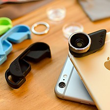 "Sistema de Lentes para iPhone 6/6 Plus ""Olloclip"""