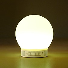"""Lámpara Altavoz Despertador """"Smart"""""""