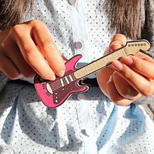Lima de Uñas Guitarra Eléctrica