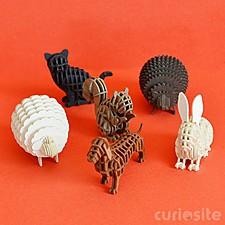 """Micro Animales de Papel """"SI-GU-MI"""""""