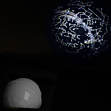 Projector Dome Stars Map