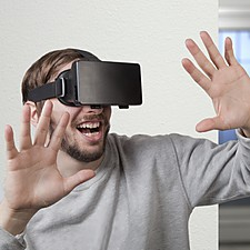 Binoculares de Realidad Virtual