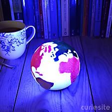 Luz Planeta Tierra Multicolor