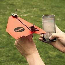 Avión de Papel Controlado por Smartphone