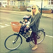 Silla para Bicicleta Portabebés