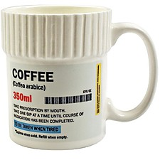 Taza de Té o de Café Frasco de Píldoras