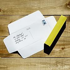 Postal Caleidoscopio de Cartón