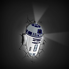 Luz Quitamiedos 3D Deco Lights R2-D2