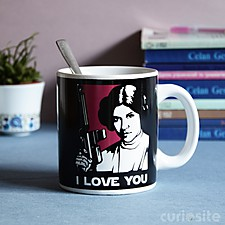 "Taza Star Wars ""I Love You"""