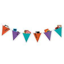 Banderines Decorativos con Bolsillos