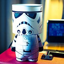 Lámpara Star Wars Stormtrooper