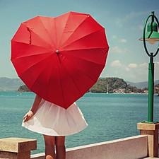 Paraguas Corazón